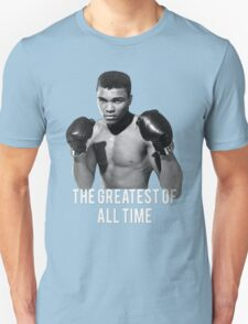 Muhammad Ali, 'The Greatest of All Time',  Unisex T-Shirt