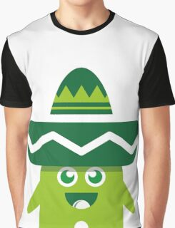 Green Myxike Graphic T-Shirt
