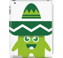 Green Myxike iPad Case/Skin