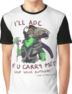 adc e support <3 v.3 Graphic T-Shirt