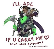 adc e support <3 v.3 Photographic Print