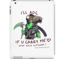 adc e support <3 v.3 iPad Case/Skin