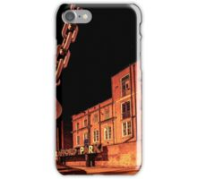 Trafford Park at Night  iPhone Case/Skin