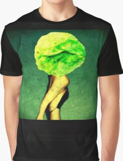 surreal All she ate was lettuce Graphic T-Shirt