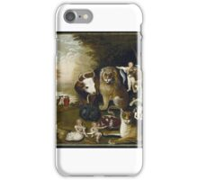 Edward Hicks (American, ). The Peaceable Kingdom, ca.  iPhone Case/Skin