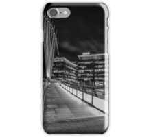 Salford at Night Monochrome  iPhone Case/Skin