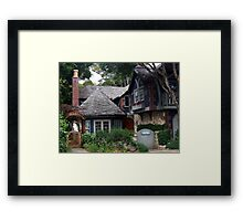 Dream Cottage in Carmel-by-the-sea Framed Print