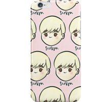 Jin BTS Fanart - Young Forever Blonde iPhone Case/Skin