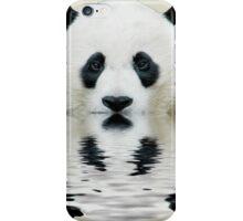 Water panda iPhone Case/Skin