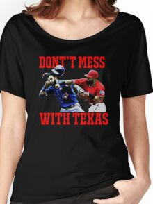 Dont't Mess With Texas  Women's Relaxed Fit T-Shirt