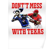 Dont't Mess With Texas  Poster
