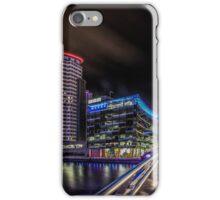 Salford Quays at Night  iPhone Case/Skin