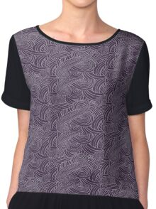 mass effect tali pattern Chiffon Top