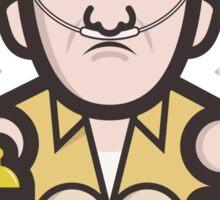 Breaking Bad Icon Set - HECTOR SALAMANCA Sticker