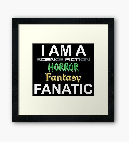 Genre Fan Framed Print