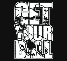 Get Your Ball! One Piece - Short Sleeve
