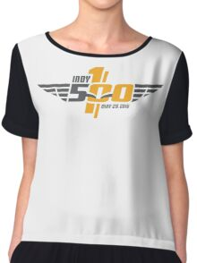the racing capital of the world, race day, indianapolis, 500, 100th, racing, may 29 2016, indy 500, carb day, legend day, indiana, brickyard, america, usa, motor, sport, speedway. Chiffon Top