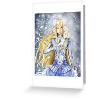 The Doll Greeting Card