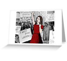 'Feminist pioneer'  Greeting Card