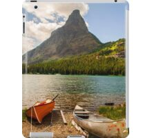 Swiftcurrent Lake iPad Case/Skin