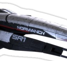 mass effect normandy Sticker