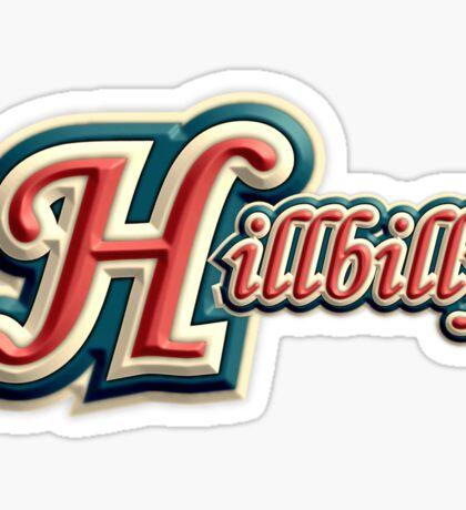 Vintage Hillbilly Sticker