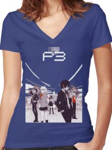Persona 3 Women's Fitted V-Neck T-Shirt