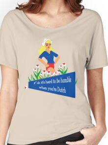 Blunt Blonde Dutch Tee Women's Relaxed Fit T-Shirt