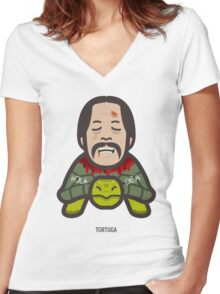Breaking Bad Icon Set - TORTUGA Women's Fitted V-Neck T-Shirt