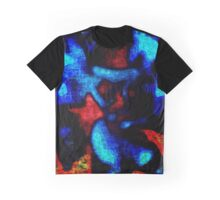 blue angry man Graphic T-Shirt
