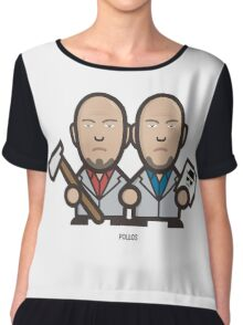 Breaking Bad Icon Set - MARCO&LIONEL Chiffon Top