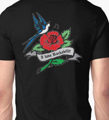 Rockabilly Red Hot Retro Tattoo  Unisex T-Shirt