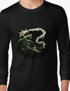 """""""Sharky Prime"""" summoned by Mordecai Long Sleeve T-Shirt"""