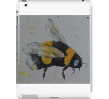 Bumble bee in flight iPad Case/Skin