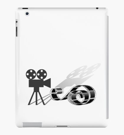 Film strip and film camera iPad Case/Skin