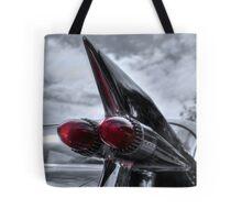 1959 Cadillac Tail Fin Tote Bag