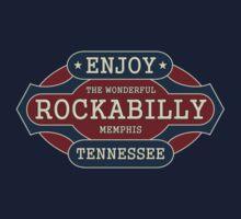 Enjoy Rockabilly Kids Tee