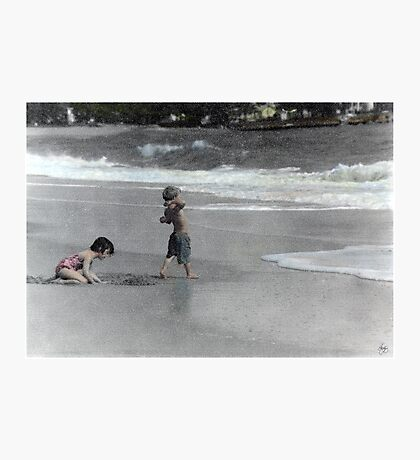 At the Beach Photographic Print