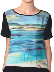 Can I swim from here to there?  Chiffon Top