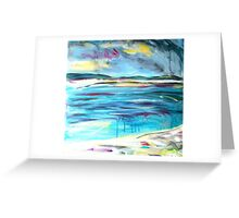 Can I swim from here to there?  Greeting Card