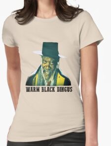 The Hateful Eight - Warm Black Dingus Womens Fitted T-Shirt