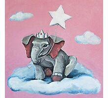Elephant Princess Photographic Print