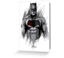 Bat Man Greeting Card