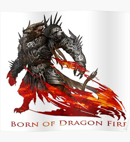 Guild Wars 2 - Born of Dragon Fire Poster