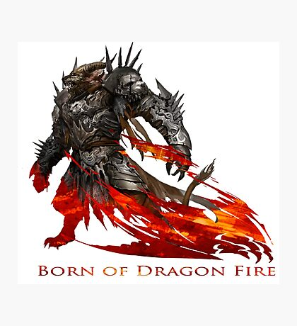Guild Wars 2 - Born of Dragon Fire Photographic Print