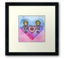 Polly Pocket 90's Nostalgia  Framed Print