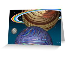 The Saturn Phenomenon Greeting Card