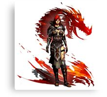 Guild Wars 2 - Nord Woman Canvas Print