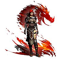 Guild Wars 2 - Nord Woman Photographic Print