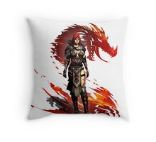 Guild Wars 2 - Nord Woman Throw Pillow